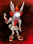 Pennywise the bad bunny