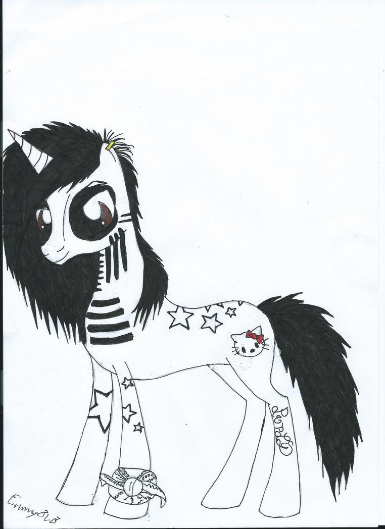 Ashley Purdy Pony by EmmyBVB