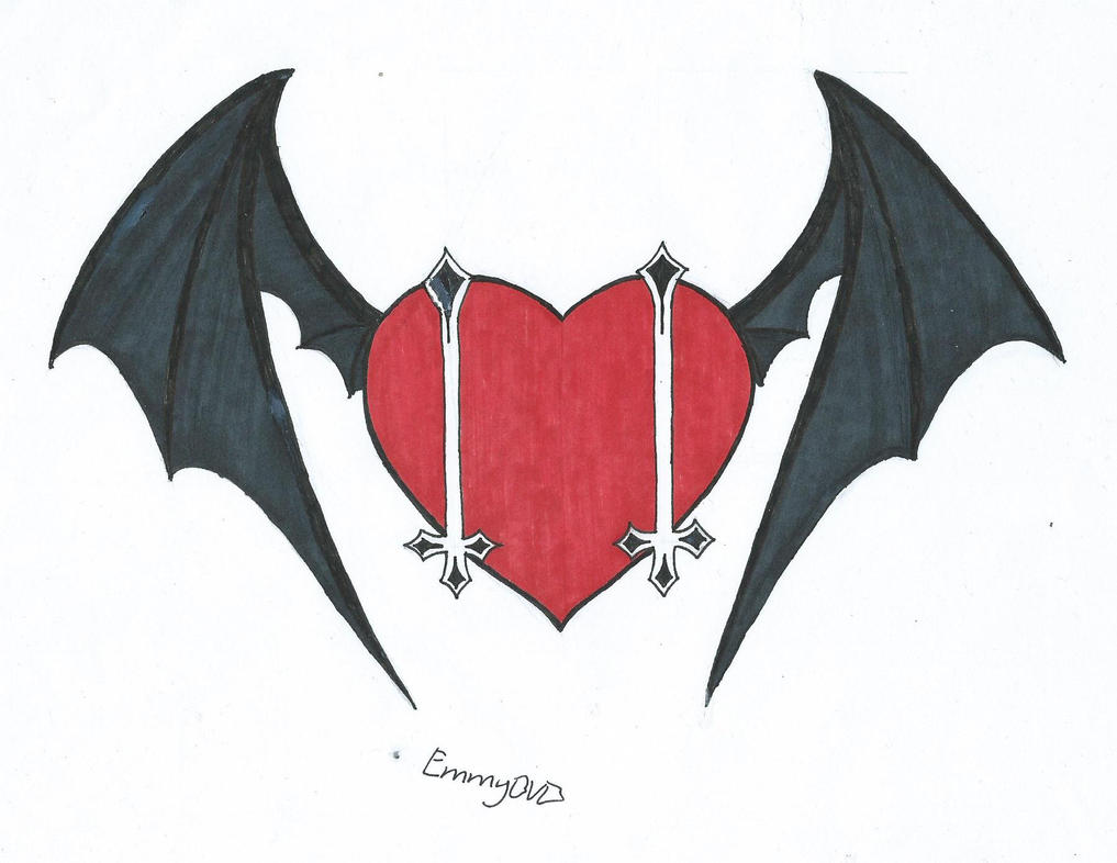 Andy Biersack Themed Heart by EmmyBVB