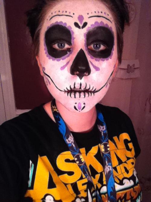 Sugar Skull Wikipedia Sugar Skull Face Paint by