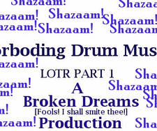LOTR-Forboding drum music-P1 by xxbrokendreamsxx