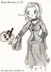 Happy Halloween Sort Of by xxbrokendreamsxx