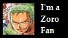 Zoro Fan Stamp by iluveatingwatermelon