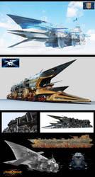 Steam fantasy Monsters by arsenixc