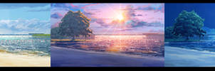 Day-sunset-night