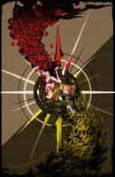 Lambdadelta vs Ange by arsenixc