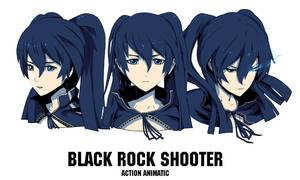 Black Rock Shooter AA by arsenixc