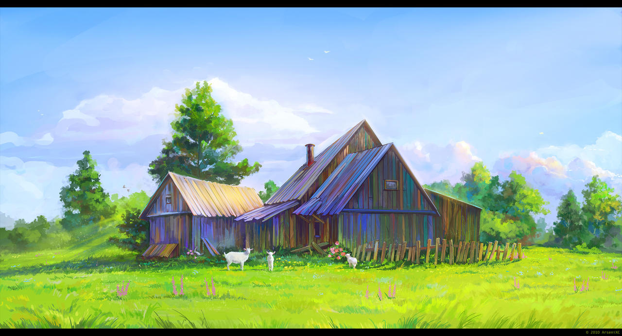 Village by arsenixc