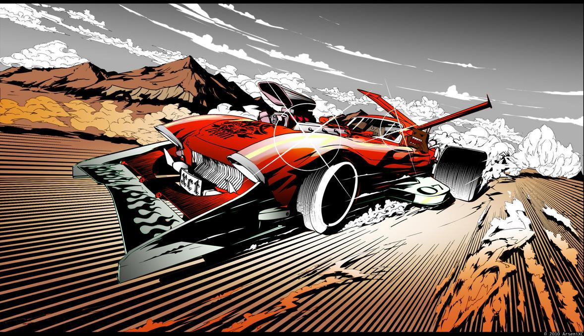 Anime Car Racing Movie