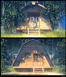 Home in Summer camp