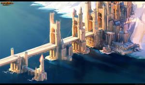 Bridge city concept by arsenixc