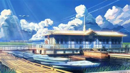 Boat station by arsenixc