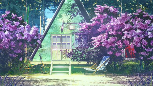 Pioneer camp leaders house