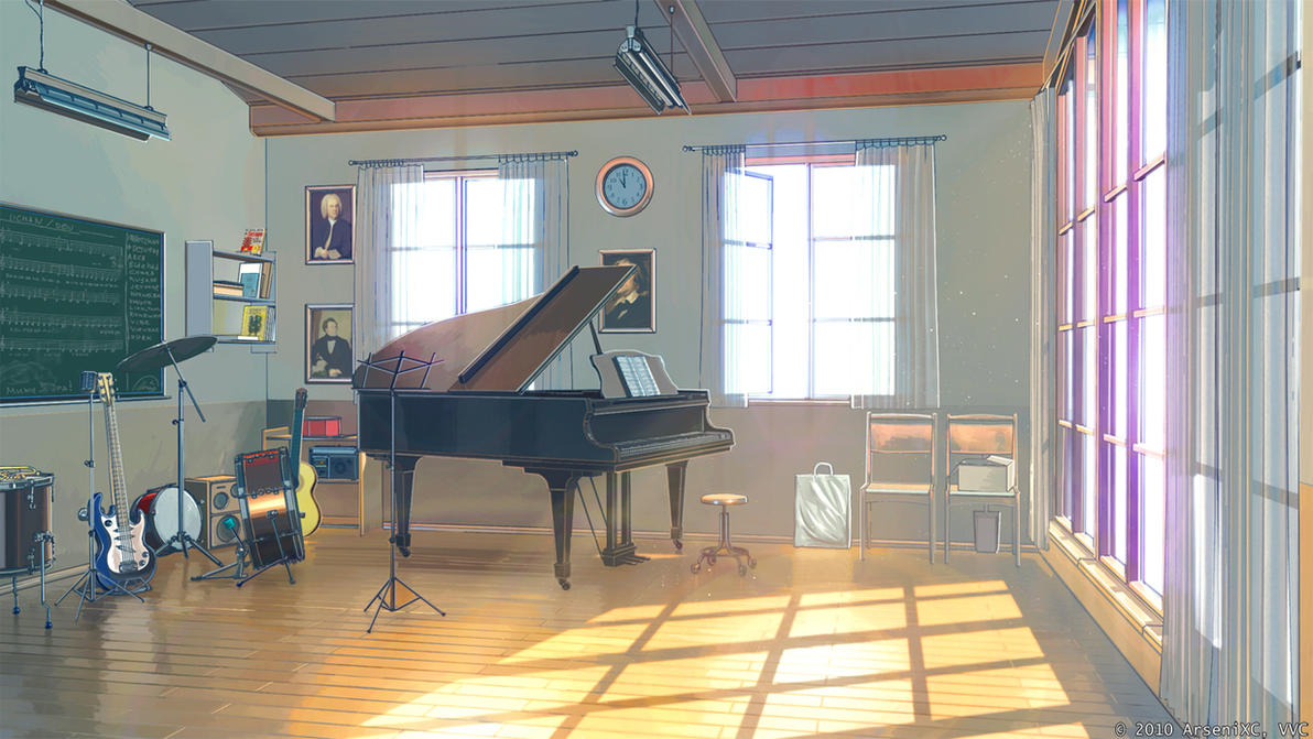 Music club inside by arsenixc