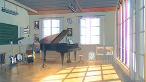 Music club inside