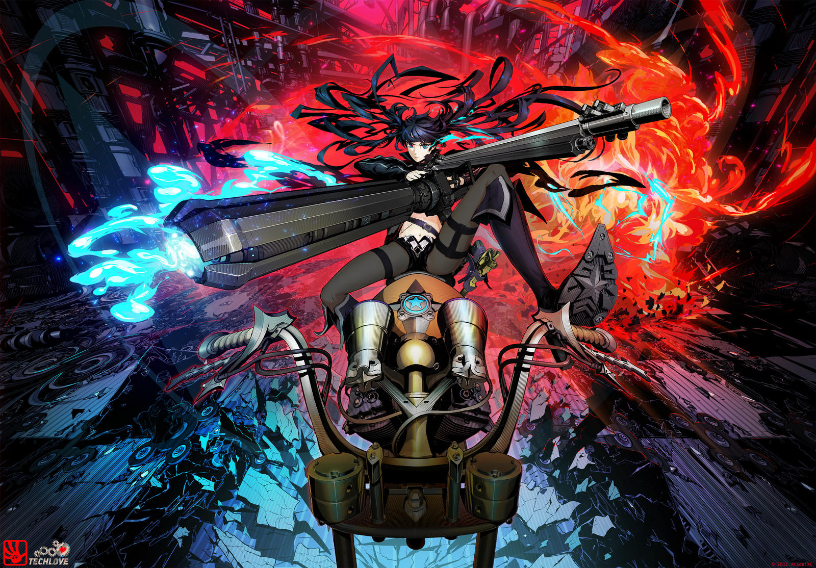 BRS RIDE  -TECHLOVE- by arsenixc