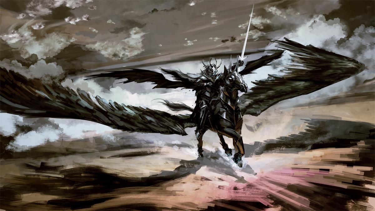 Dark wings by arsenixc