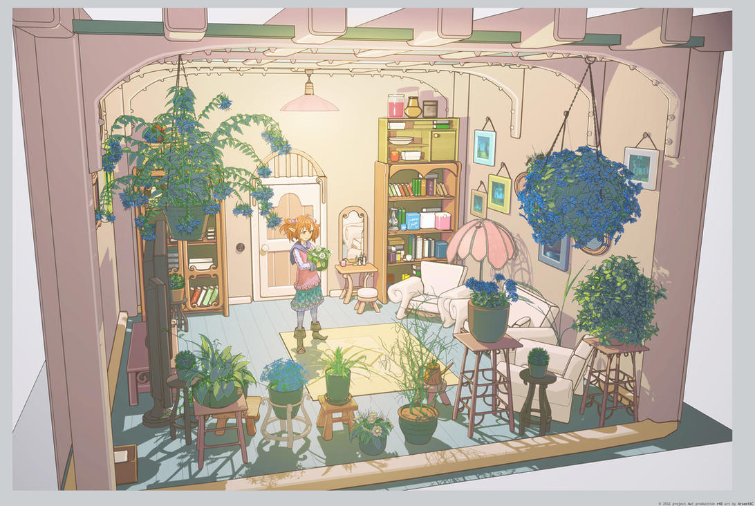 Flower room by arsenixc
