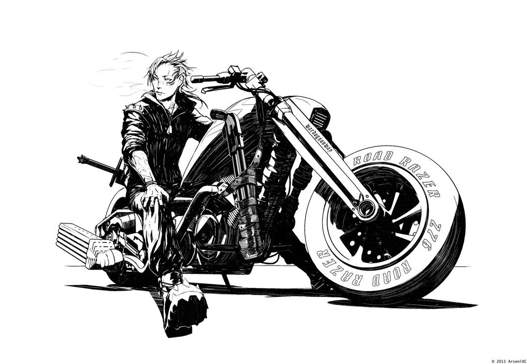 Biker by arsenixc