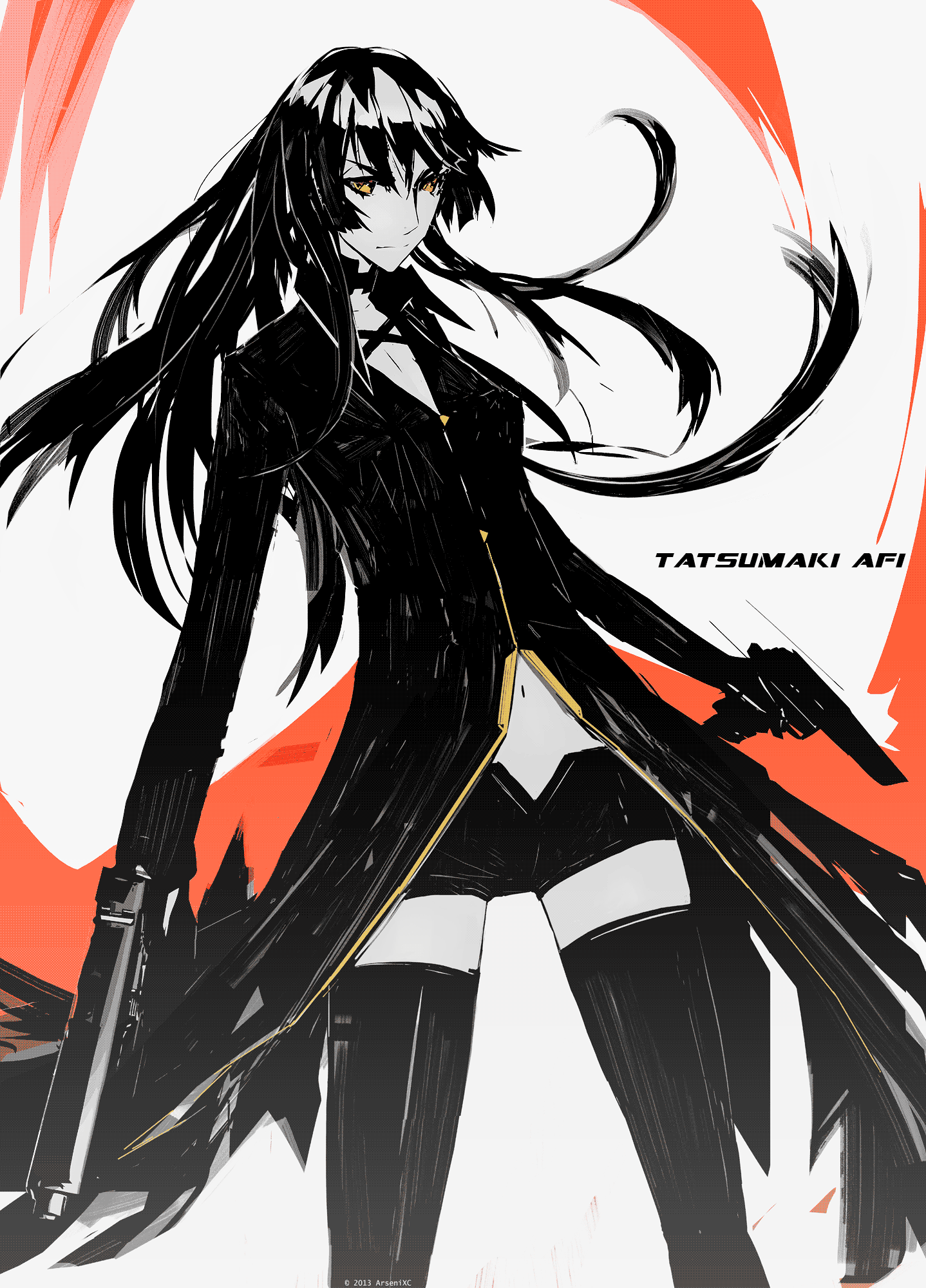 Tatsumaki Afi by arsenixc