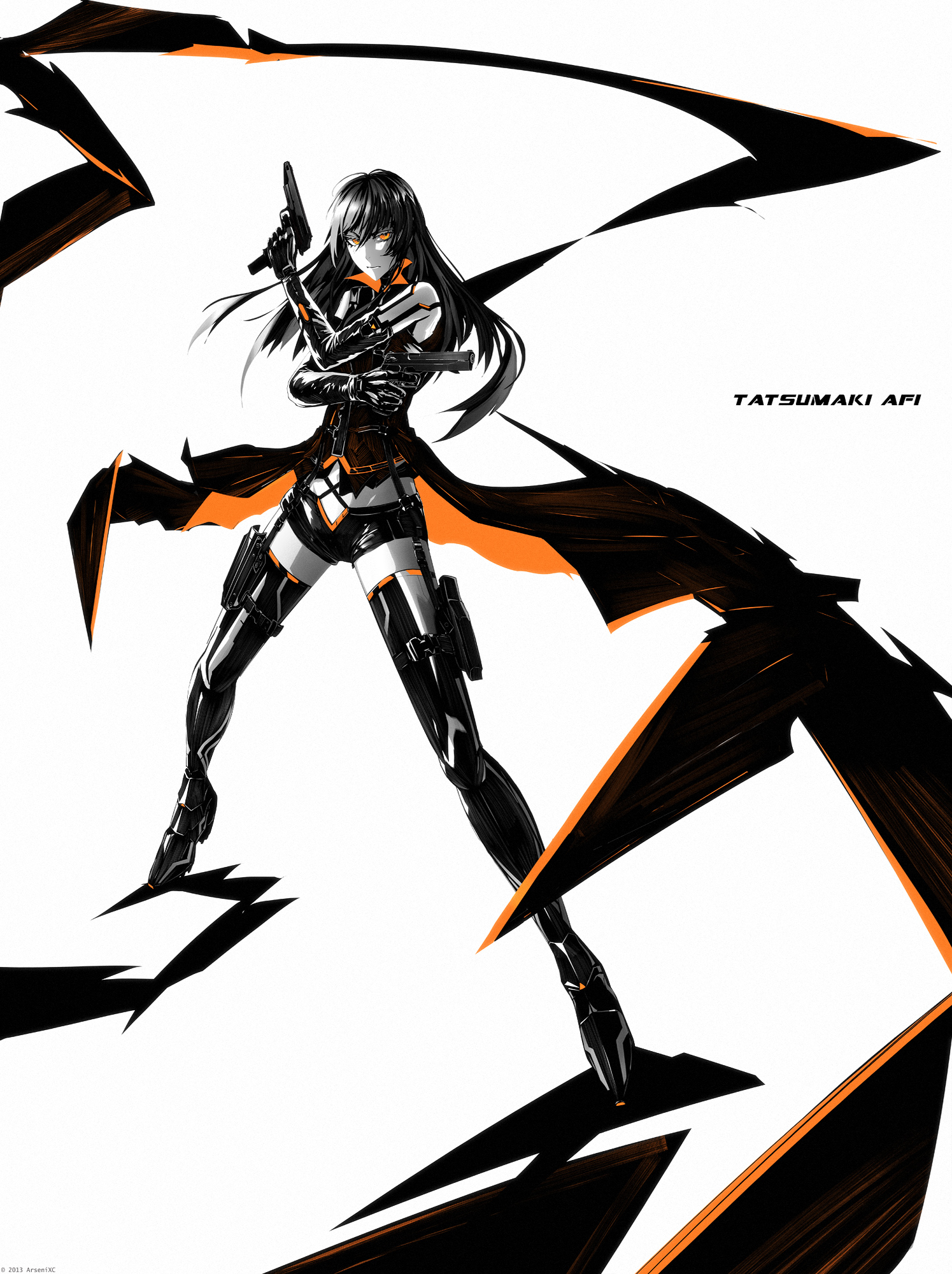 Tatsumaki Afi wrb by arsenixc