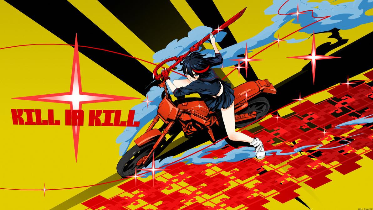 Ryuko ride! by arsenixc