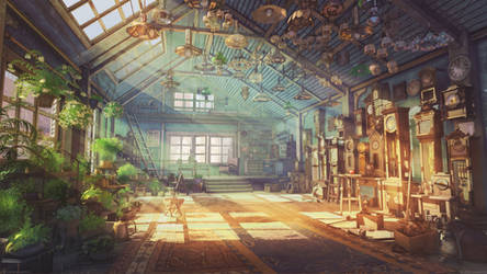 Watchmaker house by arsenixc