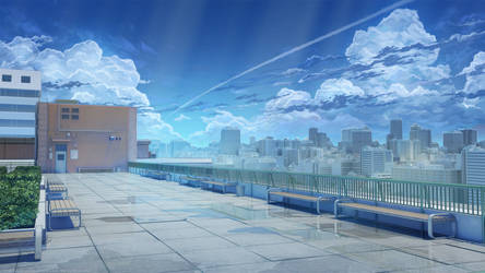 School rooftop by arsenixc
