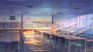 School cafeteria by arsenixc