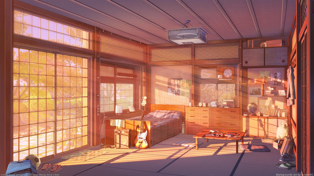 Bedroom Background Anime