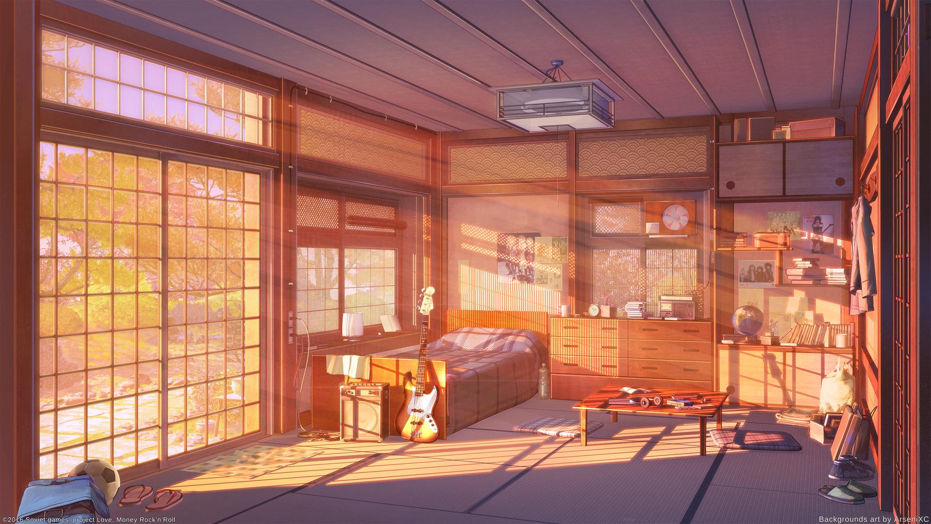 Imanje Uzunami porodice (Shigeru) Room_sunset_version_by_arsenixc-db6892l