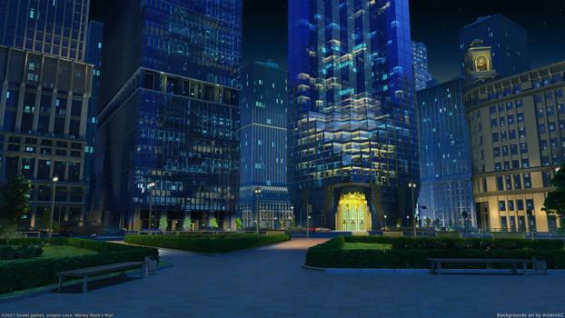 Corporation street Night