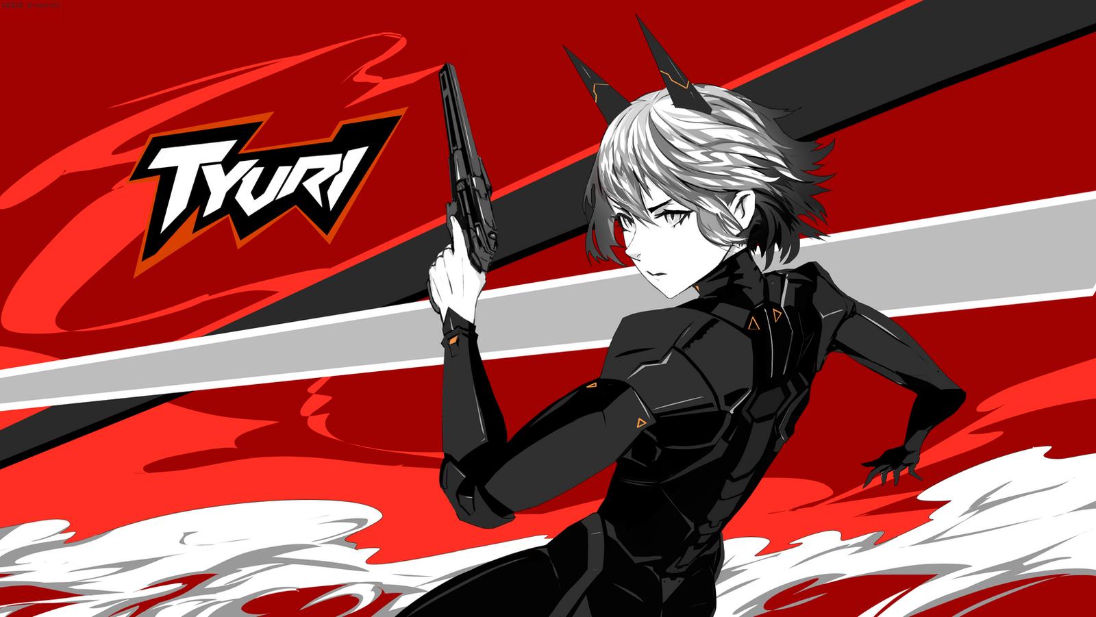 Tyuri Persona 5 style by arsenixc
