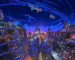 Night city by arsenixc