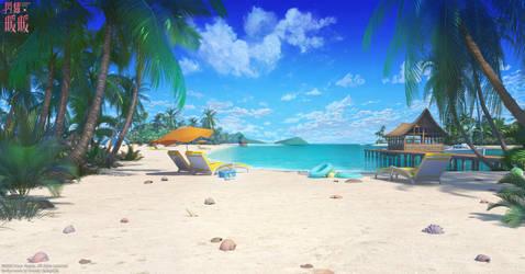 Ocean beachside