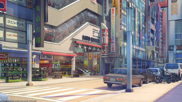 Akihabara South Exit day
