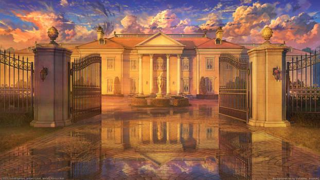 Ellie Mansion sunset