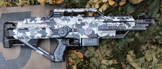 Nerf Colonial Marine Blaster by dog-green-1 ...