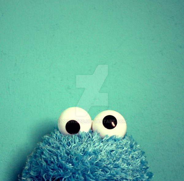 Cookie Monster by ZoeWieZo