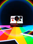 Rainbow Polaroid