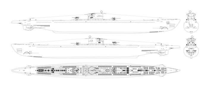 Type IX D2 U-boat