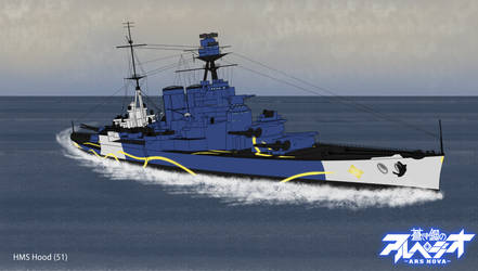 Fleet of Fog's HMS Hood (51)
