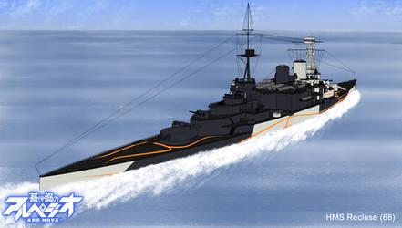 Fleet of Fog's HMS Recluse (68)