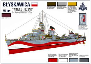 ORP Blyskawica - World of Warships Camo Contest