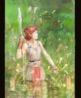 Spear by GreenViggen