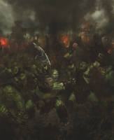 Ogres are angry :D by GreenViggen