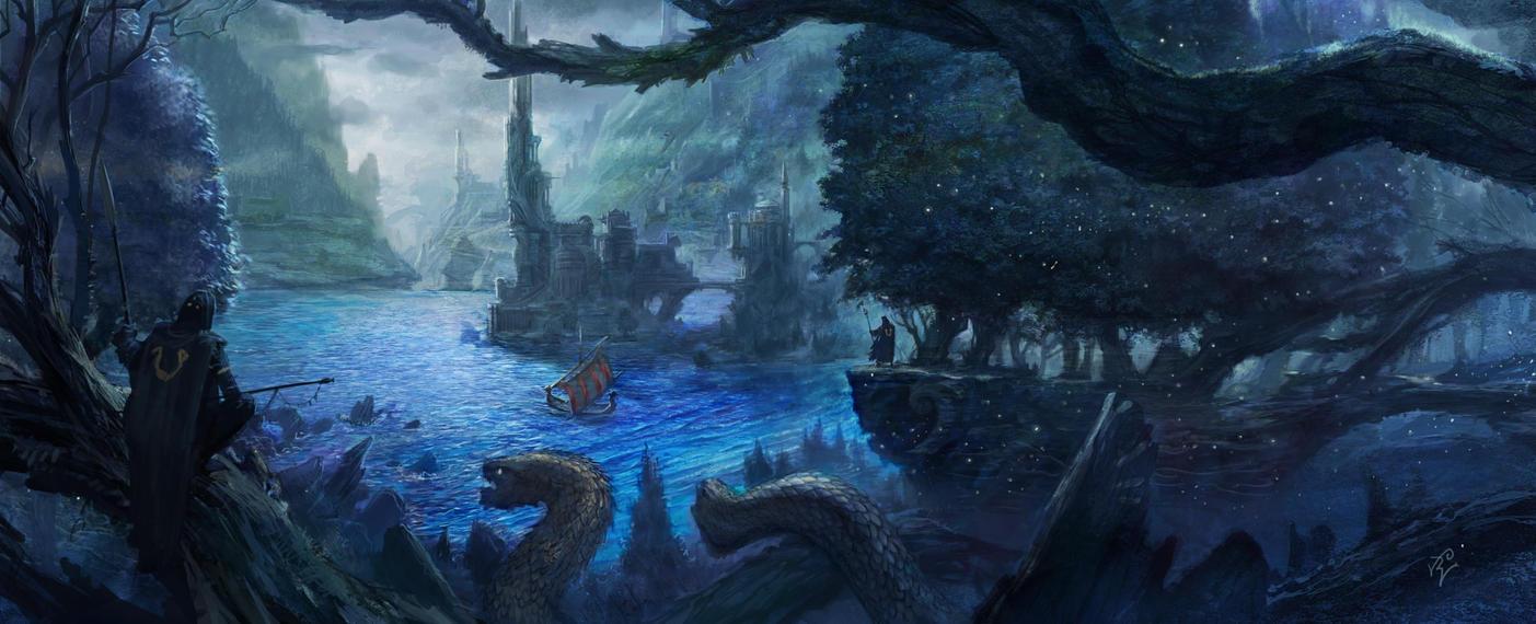 Old kingdome by GreenViggen