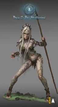 famale elf warrior affected  thea2 by GreenViggen