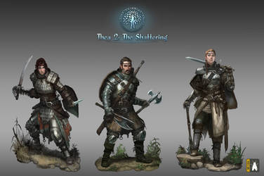 Thea Characters Gallery