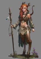 Kitha  TheBookofRetallion (commission) by GreenViggen